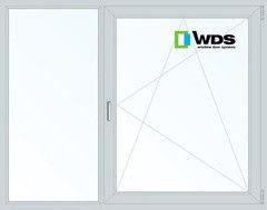 Окно ПВХ Окно ПВХ WDS 1700*1400 2К-СП, 5К-П, Г+П/О