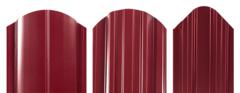 Забор Забор МКтрейд Штакетник трапеция-усиленный (RAL 3005 двустороннее покрытие, ПЭ глянец)