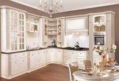 Кухня Кухня на заказ ЗОВ Фасад массив Ясеня Т 512/118