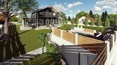 Ландшафтный дизайн IVIART Проект №17
