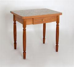 Обеденный стол Обеденный стол Red&Black ЛС-831 (Латакия 6280/Орех точеные)
