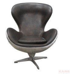 Офисное кресло Офисное кресло Kare Swivel Chair Soho Big Boss Brown 76607