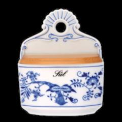 Cesky Porcelan Солонка настенная с деревянной крышкой Rokoko Слоновая кость 10116/S1019 (0.70л)