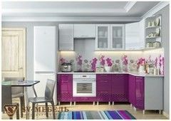 Кухня Кухня SV-Мебель Волна Баклажан