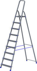Лестница Новая высота Лестница-стремянка Новая высота NV 111 алюминиевая 9 ступеней (1110109)