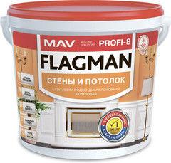 Шпатлевка Шпатлевка Flagman (MAV) PROFI-8 стены и потолок белая (11л)