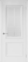 Межкомнатная дверь Межкомнатная дверь из массива Юркас Валенсия-4 ДО (эмаль белая)
