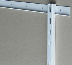 Торговая мебель Торговая мебель Интерсилуэт Шина монтажная PartHouse 600мм, белая, серебро