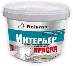 Краска Краска Belkras Интерьер (белая)