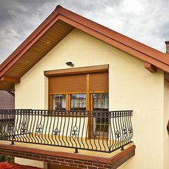 Роллеты Alutech Рольставни на балкон (система окно + дверь)-1