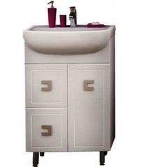 Мебель для ванной комнаты Аква Родос Тумба с умывальником Мобис 55