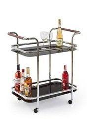 Сервировочный столик Сервировочный столик Halmar Bar-7 черный