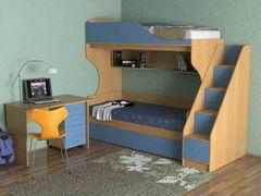 Двухъярусная кровать СлавМебель Бэмби-5 со столом