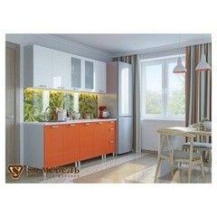 Кухня Кухня SV-Мебель Модерн Белый/Оранж