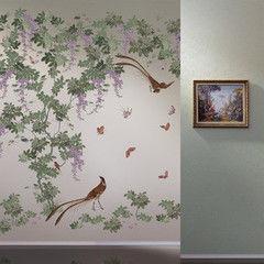 Фотообои Фотообои Loymina Коллекция Jetset Birds of Paradise