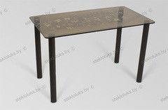 Обеденный стол Обеденный стол Стеклолюкс С 7-01 Бьянка Голд
