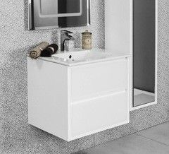 Мебель для ванной комнаты Акватон Тумба Римини 60 белая (1A177701RN010)