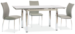Обеденный стол Обеденный стол Signal GD-018 (серый)