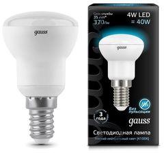 Лампа Лампа Gauss 106001204, E14, R39, 4Вт