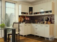 Кухня Кухня БелДрев Новый стиль Кофе угловая