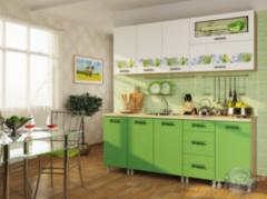 Кухня Кухня БелДрев Новый стиль Лайм прямая