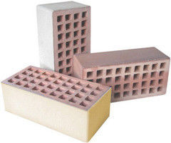 Кирпич Керамический кирпич Керамин Лицевой пустотелый утолщенный (КЛПУ-125, песочный)