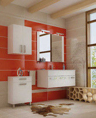 Мебель для ванной комнаты Triton Ника (белый, черный)