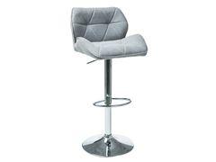 Барный стул Барный стул Signal C-122 (серый, ткань)