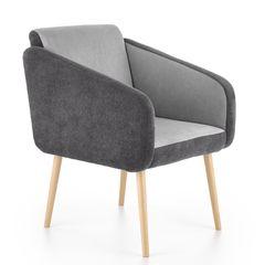 Кресло Кресло Halmar Well (темно-серый/светло-серый)
