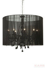 Светильник Kare Pendant Lamp Gioiello Surprise Black 92 66756