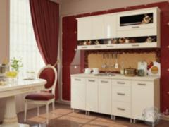 Кухня Кухня БелДрев Новый стиль Кофе прямая