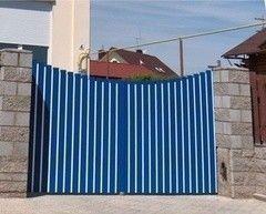 Alutech Въездные ворота Вариант 1