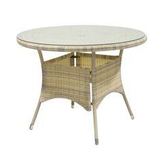 Стол из ротанга Garden4you Садовый стол WICKER 1332 11059-04