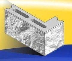Кирпич Кирпич УДМСиБ бетонный угловой лицевой 1КБУЛ-ЦП-12-2К