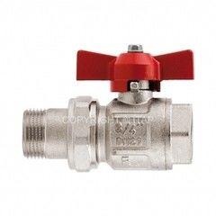Запорная арматура Itap Ideal кран шаровый полнопроходной со сгоном DN25 (арт. 098)