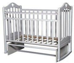 Детская кровать Кроватка Антел Каролина-3 (белый)