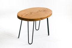 Журнальный столик GreenBee овальный (дуб рустикаль)