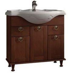 Мебель для ванной комнаты Roca Тумба для умывальника America 85, орех