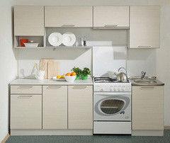 Кухня Кухня Боровичи-мебель Престиж 2400 (кремовый)
