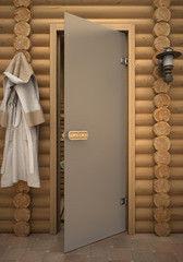 Дверь для бани и сауны Дверь для бани и сауны Акма Aspen Бесцветная матовая