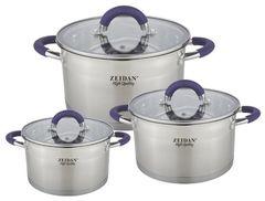 Наборы посуды Zeidan Z-50630 6 пр.