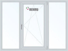 Окно ПВХ Окно ПВХ Rehau 2060*1420 2К-СП, 4К-П, Г+П/О+Г