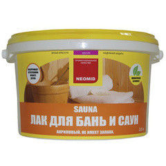 Лак Лак Neomid Sauna 1 л