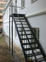Металлическая лестница Белит Вариант 73