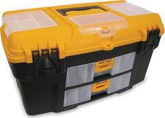 """Idea Ящик для инструмента пластмассовый УРАН 53х27,5х29см (21"""") (с двумя консолями и секциями) Idea (М2925)"""