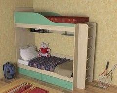 Двухъярусная кровать СлавМебель Дуэт