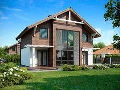 Строительство домов Дом с мансардой ИП Сопин А.В. Пример 45
