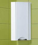 Мебель для ванной комнаты Акваль Шкаф угловой настенный Аврора