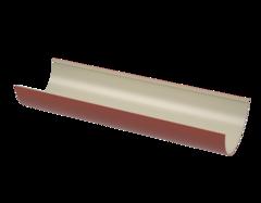Водосточная система ТехноНиколь Желоб ТН ПВХ красный (1.5М)