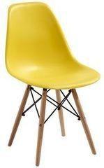 Кухонный стул Atreve Amy (желтый/бук)